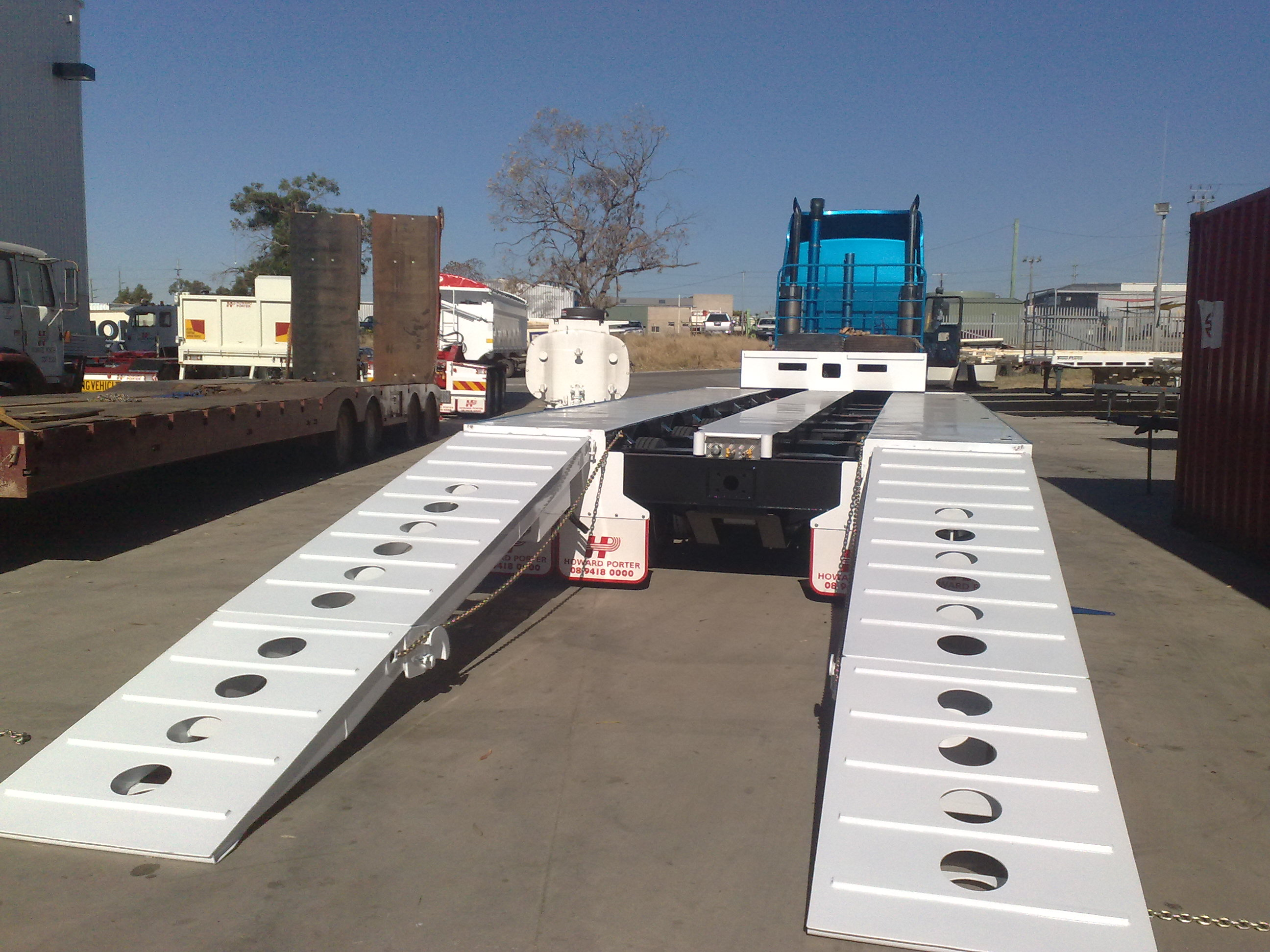 Drop Deck Widener Trailer