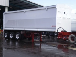 End Tipping Trailer
